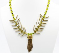 Green Pesce Necklace