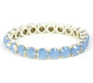 Queen Bracelet Light Blue Opal