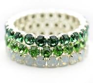 Queen Bracelet Green Setting