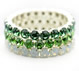 Queen Bracelet Green Setting