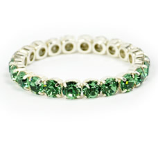 Queen Bracelet Emerald Green