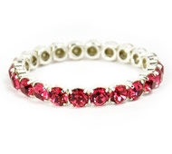 Queen Bracelet Fuschia