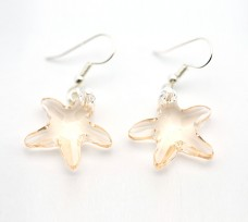 Starfish Crystal Earrings